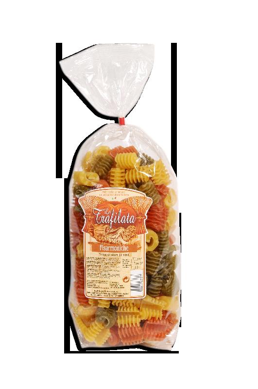 """La Trafilata, """"Fisarmoniche tricolore"""", Pastificio Mazzi"""