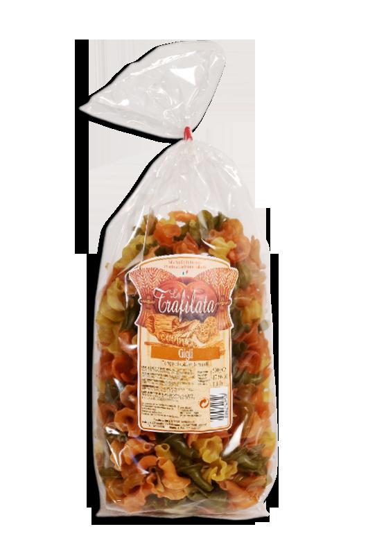 """La Trafilata, """"Gigli tricolore"""", Pastificio Mazzi"""
